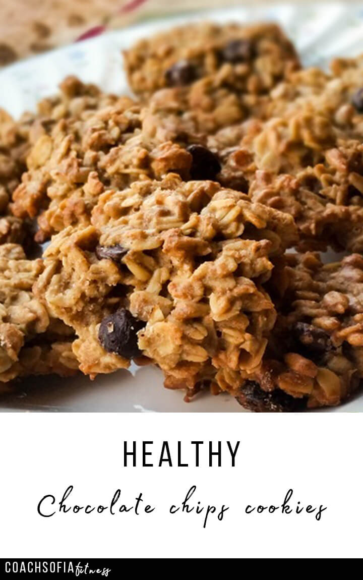 healthy chocolate chips cookies