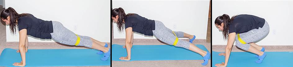 plank exercise variation