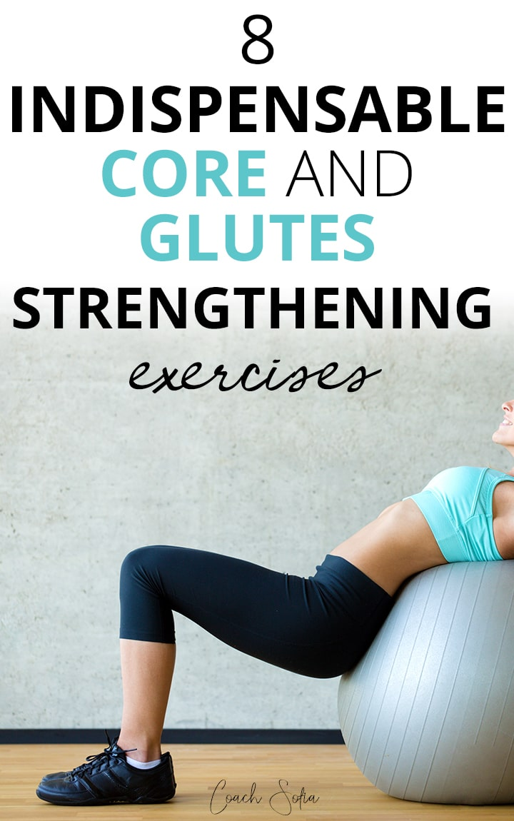 8 exercises to strengthen the glute and deep core muscles