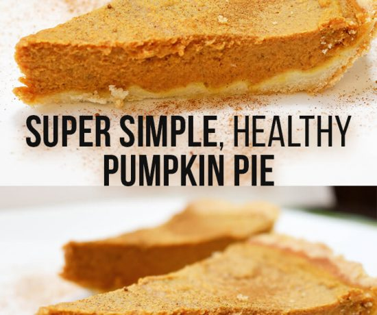 healthy, low carb and gluten free pumpkin pie. Low sugar and clean