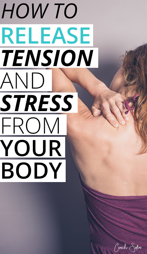 physical effects of stress on the body and how to release it