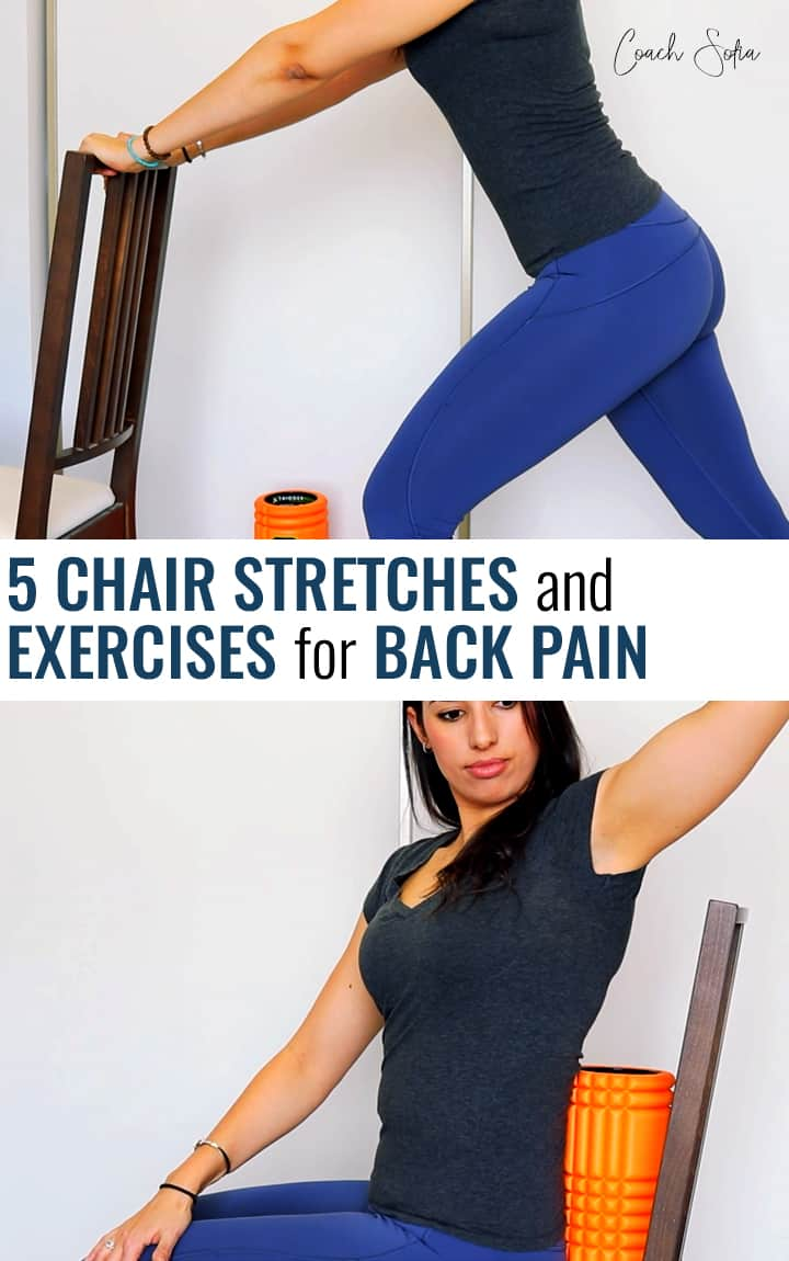 5 Chair exercises and stretches to reduce back pain and stiffness