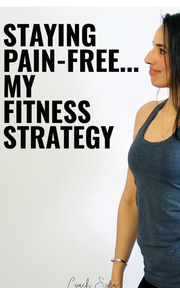 how I workout without back pain or piriformis pain