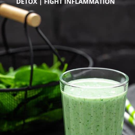super green smoothie that tastes good